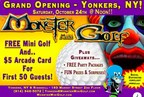 Mini Golf, Monsters, Music and Fun Rolls into Ridge Hill in Yonkers, NY - Now Open