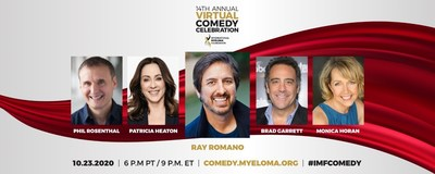 """International Myeloma Foundation's 14th Annual Comedy Celebration goes virtual, with a cast reunion of the hit sitcom """"Everybody Loves Raymond."""""""