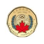 A primeira Loonie colorida da Royal Canadian Mint marca o 75º aniversário da assinatura da Carta das Nações Unidas