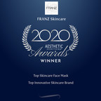 "Franz Skincare USA Announces Second Consecutive Win of ""Top Skincare Face Mask"" in the 2020 Aesthetic Everything® Aesthetic and Cosmetic Medicine Awards"