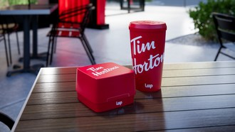First of its kind in Canada: Tim Hortons® to test a reusable, returnable cup and food packaging program with zero-waste platform Loop (CNW Group/Tim Hortons)