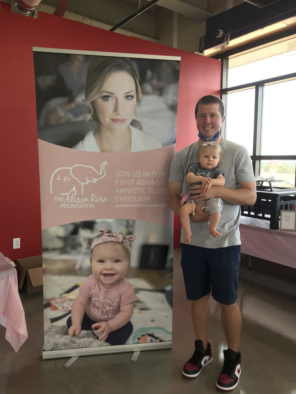 The Alison Rose Foundation is pleased to announce its first major charitable contribution in the amount of $25,000 to the Amniotic Fluid Embolism (AFE) Foundation to further research efforts of amniotic fluid embolism, a rare and often-fatal birth complication.