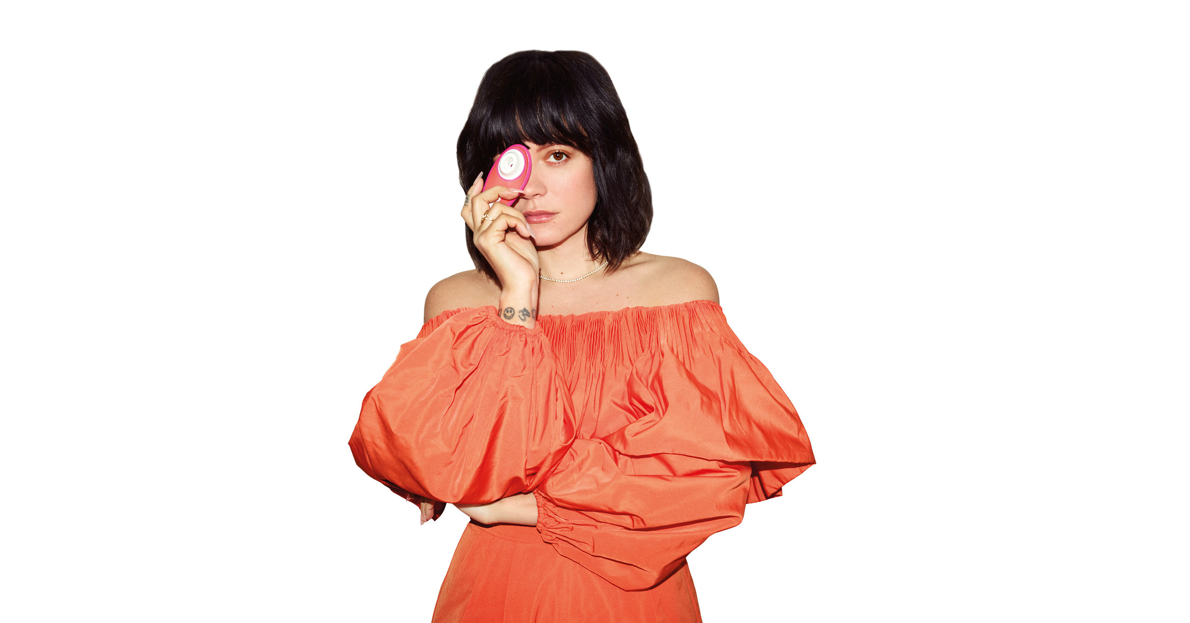 Lily Allen collaborates with Womanizer to champion female