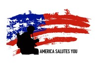 The official logo of America Salutes You