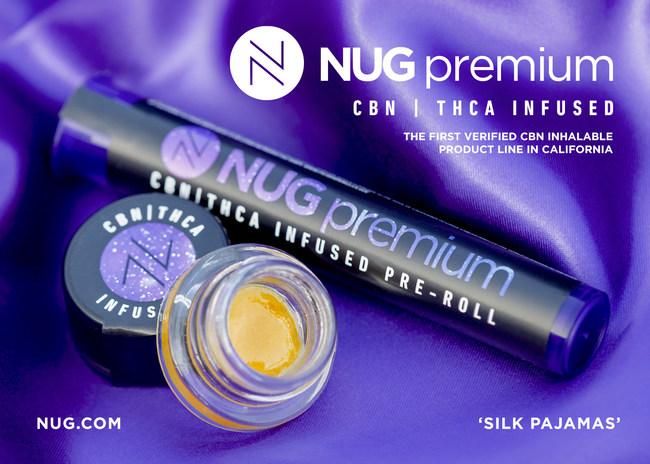NUG's CBN / THC Infused Product Line 'Silk Pajamas'