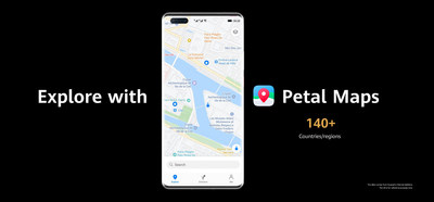 Explore com Petal Maps (PRNewsfoto/Huawei Consumer Business Group)
