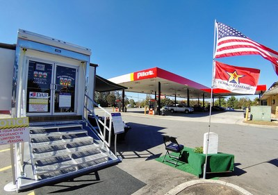 Pilot Company and Wreaths Across America partnered to bring the Mobile Education Exhibit to the Pilot Travel Center in Mebane, North Carolina on October 20, 2020 for free a public tour. Now through Dec. 31, 2020, Pilot Company is raising funds for Wreaths Across America with an in-store round-up at its 750 company-operated stores in the U.S.