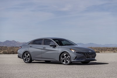 Hyundai Announces Pricing for New Feature-Rich 2021 Elantra Lineup - 2021 Elantra Hybrid show here