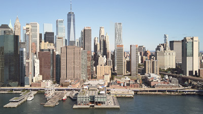 Proposed Seaport Development. Image credit: The Howard Hughes Corporation ®/SOM