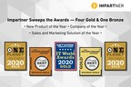 Impartner Racks up the Award Medals: Bringing Home Four Golds and One Bronze for New Product of the Year, Company of the Year and Sales and Marketing Intelligence Solution