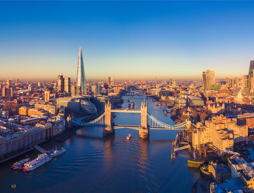 AIT's three United Kingdom locations--Exeter, London (pictured) and Manchester--have earned Authorized Economic Operator (AEO) accreditation from the European Commission's Taxation and Customs Union