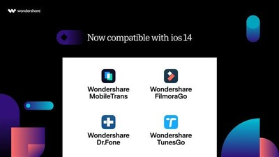 All Wondershare Software Now Compatible with iOS 14