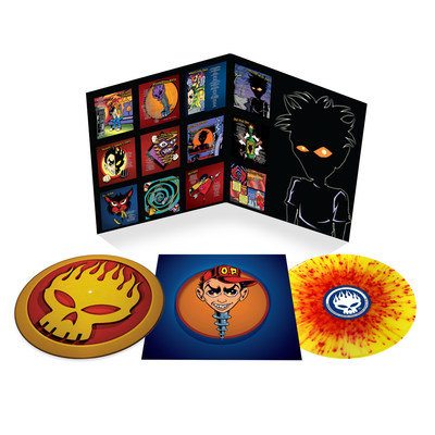 To commemorate its 20th anniversary, Conspiracy of One, the sixth album by punk rock trailblazers the Offspring, will once again be available on vinyl — the first time since its release in 2000. On December 11, Round Hill Records/UMe will release a deluxe version of Conspiracy of One pressed to yellow and red splatter vinyl, which includes spot gloss on the cover and a custom turntable slipmat featuring the Offspring's flaming skull silhouette logo.