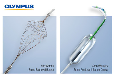 Olympus announces the launch of two new ERCP stone management devices, StoneMasterV and VorticCatchV.