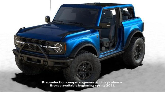 The two-door fully loaded Lightning Blue 2021 Ford Bronco, graciously donated by St. Jude Detroit Gala co-chairs Calvin and Sarah Ford, is up for auction, with proceeds going to St. Jude Children's Research Hospital. The sure-to-be collector's item can be bid on through Oct. 29 by visiting stjude.org/detroitgala