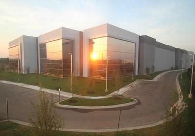 Building P, Digital Realty's latest Data Center development in Ashburn, Virginia