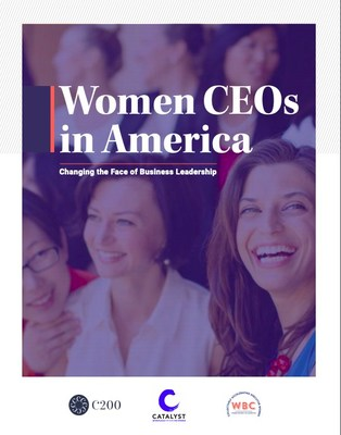 Women CEOs in America Report (PRNewsfoto/Women Business Collaborative,C200,Catalyst)