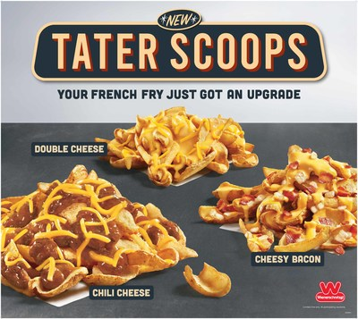 Wienerschnitzel Gives The Classic French Fry A Glow Up Unveils Tasty New Tater Scoops In Three Delicious Flavor Combinations