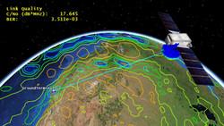 Satellite communication footprint with Ansys HFSS Antenna