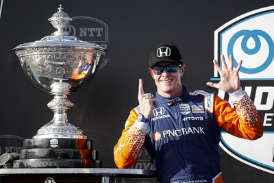Scott Dixon scored his sixth INDYCAR Drivers' Championship Sunday at the season-ending Firestone Grand Prix of St. Petersburg, while Honda claimed its third consecutive Manufacturers' Title.
