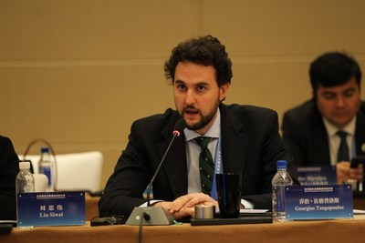 George N. Tzogopoulos, Director of the EU-China Program at the Centre International de Formation Européenne