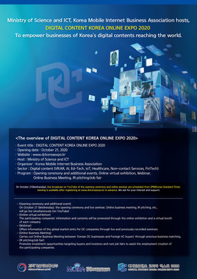 Enjoy Expo virtually 'Digital Content Korea Online Expo 2020'