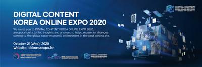 Digital Content Online Korea Expo 2020