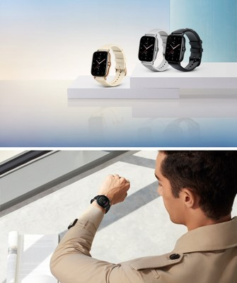 Relógios inteligentes Amazfit GTR 2 e Amazfit GTS 2 clássicos e modernos com uma ampla variedade de recursos de saúde para estilos de vida ativos