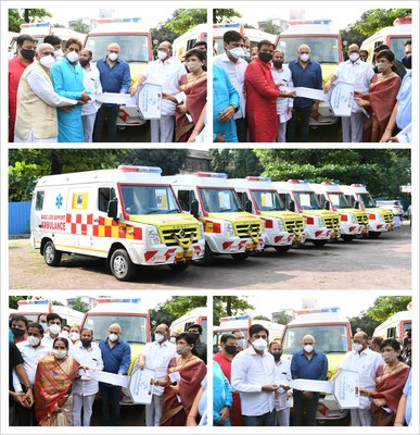 Panchshil Foundation Donates Ambulances To Leading Charitable Organisations In Pune