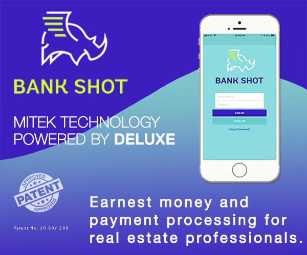 Bank Shot Earnest Money App