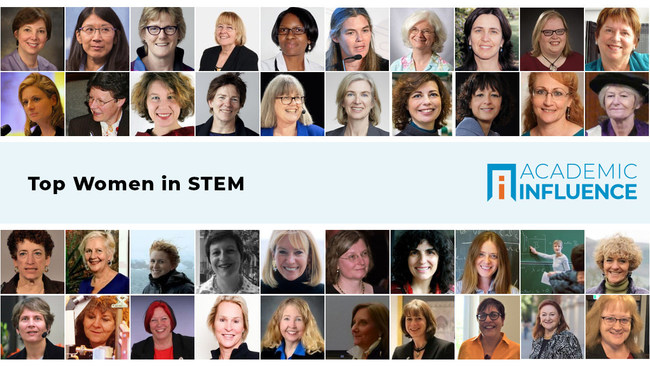 These women lead the world in science, technology, engineering, and mathematics. Learn more about them at AcademicInfluence.com…