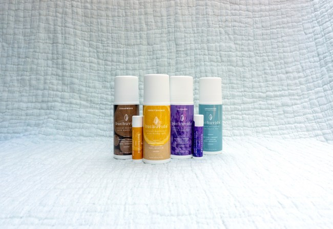 BuchuVida Natural, Aluminum-Free Deodorant, and Natural Lip Balm