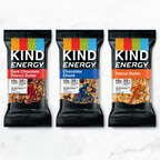 KIND Launches KIND® Energy - A Bar that Leads with Oats - Unlike Top Energy Bars That Have Sugar or Protein Powders as First Ingredients
