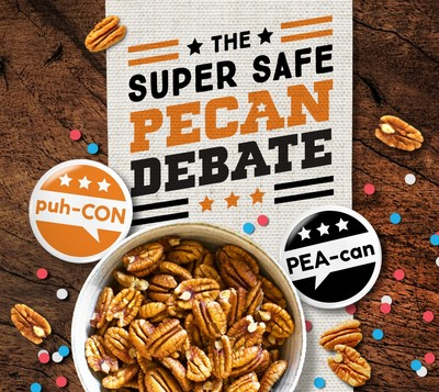 American Pecans launched The Super Safe Pecan Debate, the partisan issue you can passionately argue without risking your invitation to next year's family gathering.