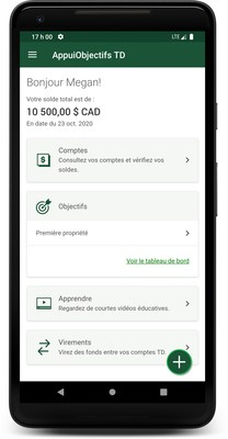 AppuiObjectifs TD (Groupe CNW/TD Bank Group)