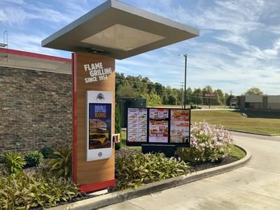 Digital Drive-Thru Menu Boards at Single Drive-Thru Location at Burger King (CNW Group/Restaurant Brands International Inc.)