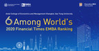 ACEM Ranked 6th Worldwide in FT EMBA Ranking 2020