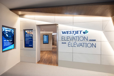The opening of Elevation Lounge demonstrates WestJet's ongoing commitment to growing its presence and premium guest experience in Calgary. (CNW Group/WESTJET, an Alberta Partnership)