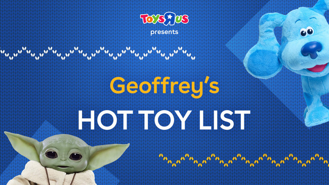 """Toys""""R""""Us relaunches its Hot Toy List for 2020."""