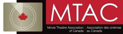 Movie Theatre Association of Canada Logo (CNW Group/Movie Theatre Association of Canada)