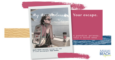 """Miami Beach lanzo una nueva campaña, """"Mi Miami Beach, Tu Escape"""" en la cual se destacan una colección de imágenes capturadas por fotógrafos locales quienes muestran el encanto de la ciudad."""