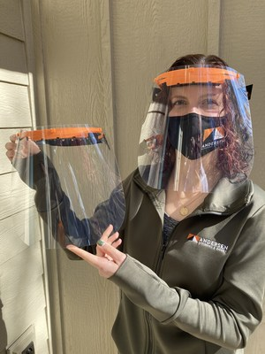 Poll Workers Across the Country Protected by Andersen Face Shields