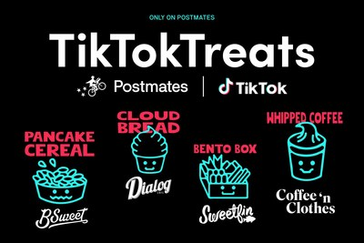 The First-Ever TikTok Creator Menu Featuring Some of The Year's Most Popular Food Trends on TikTok, Now Available Exclusively on Postmates