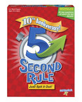"""PlayMonster's 5 Second Rule game celebrates its 10th anniversary with a chance to win a virtual seat to one of """"Ellen's 12 Days of Giveaways"""""""