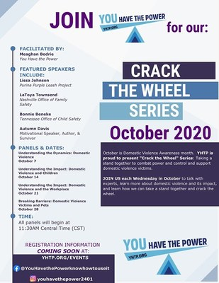 «Crack The Wheel» Series Bringing Awareness To Domestic Violence