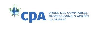 Logo de l'Ordre des CPA du Québec (Groupe CNW/Ordre des comptables professionnels agréés du Québec)