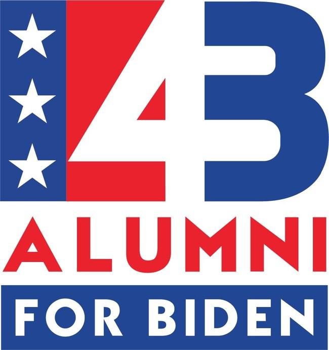Logo of 43 Alumni for Joe Biden