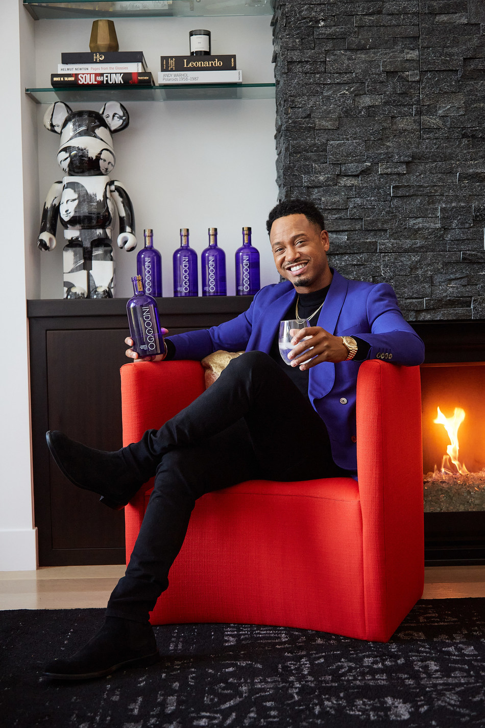Already a well-established actor, host, producer, entrepreneur and philanthropist, Terrence J will now serve as Trusted Spirits' first Creative Director.