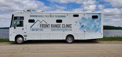 Winnebago Industries® Specialty Vehicle Division provides commercial vehicle platforms for six mobile opioid units serving 25 of Colorado's rural counties.