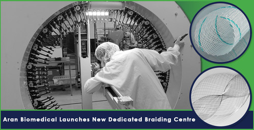 Aran Biomedical Launches New Dedicated Braiding Centre